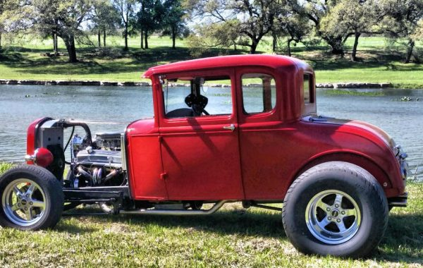 1930 Ford 5 window Highboy Coupe